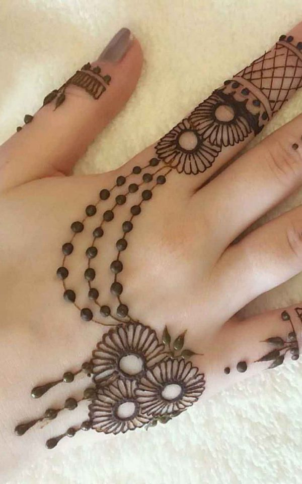 Astonishing Simple Mehndi Design , Simple Eid Mehndi Designs
