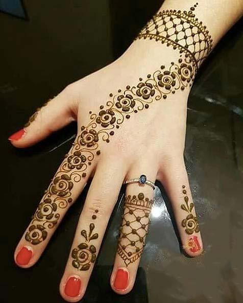Simple Beautiful Mehndi Design - Simple Eid Mehndi Designs ...