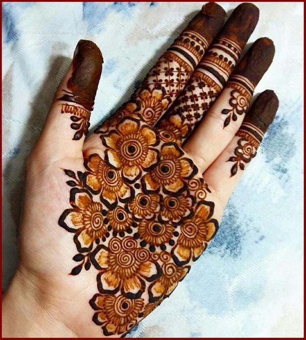 astonishing punjabi mehndi design   punjabi eid mehndi