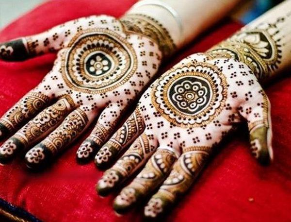 shocking indo arabic mehndi design   indo arabic eid