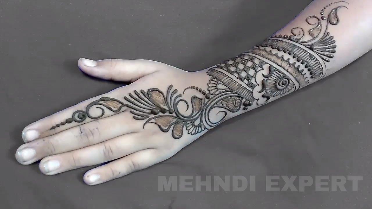 trademark indo arabic mehndi style   indo arabic eid