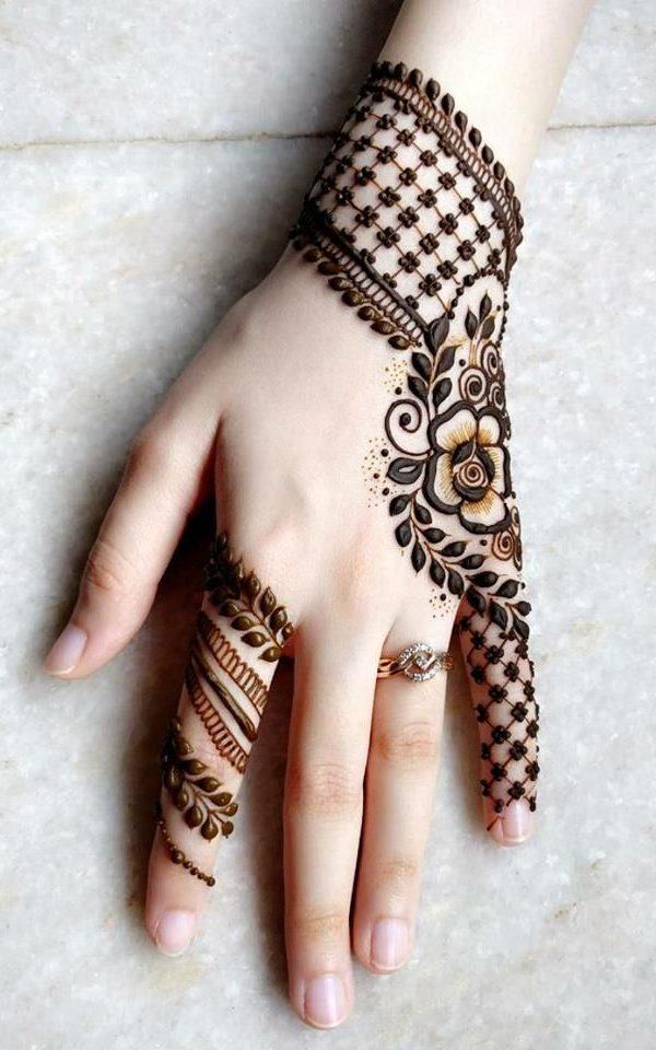 eid modern mehndi design