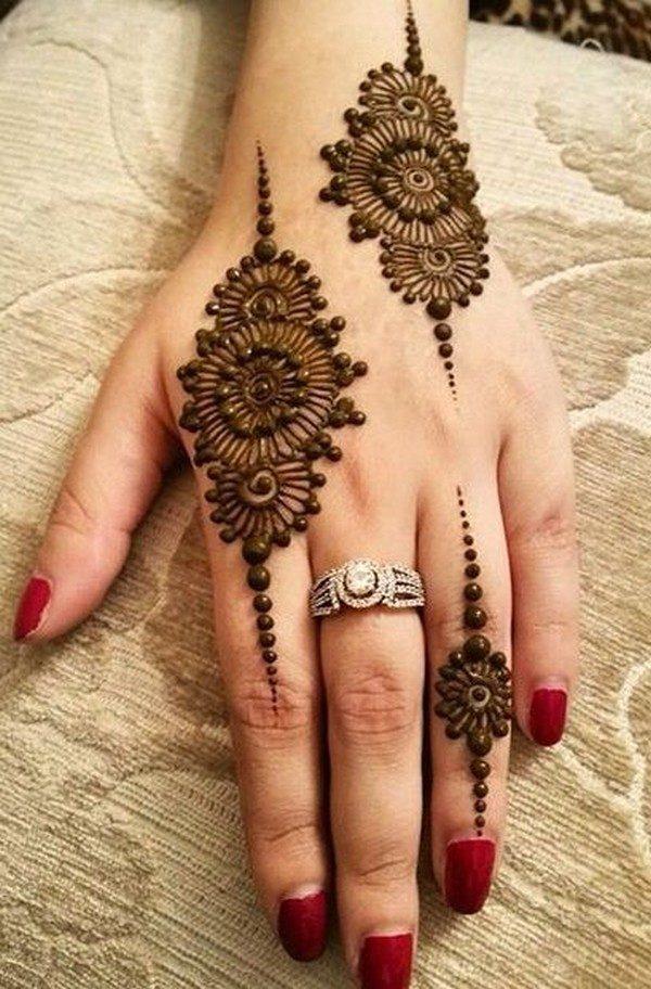 eid mehndi design easy