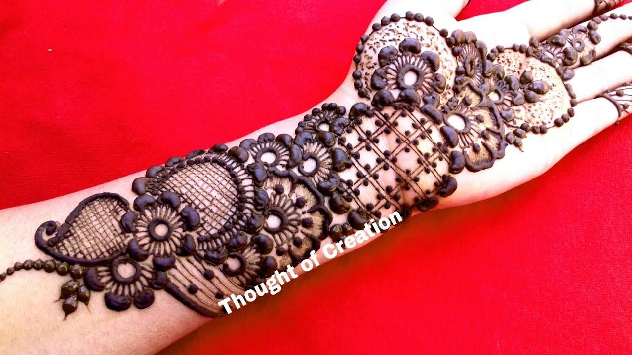 Stylish Unique Mehndi Designs: Sound Designer Style Eid Mehndi Designs