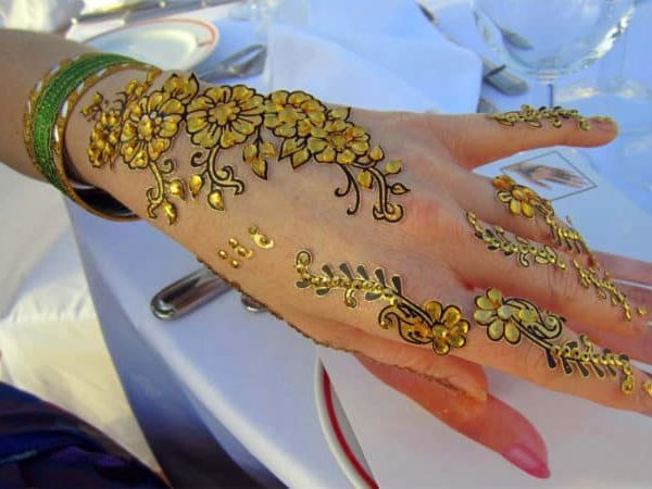 most recent dot mehndi designs for hands   dots style eid