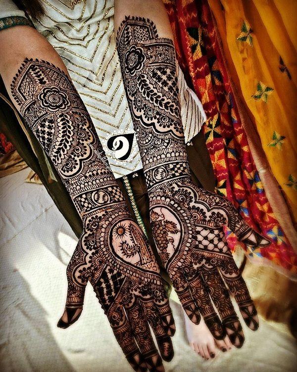 Cool Mehndi Designs: Astounding Cool Bridal Mehndi Designs