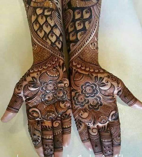 Dissipating Gulf Bridal Mehndi Designs Gulf Bridal
