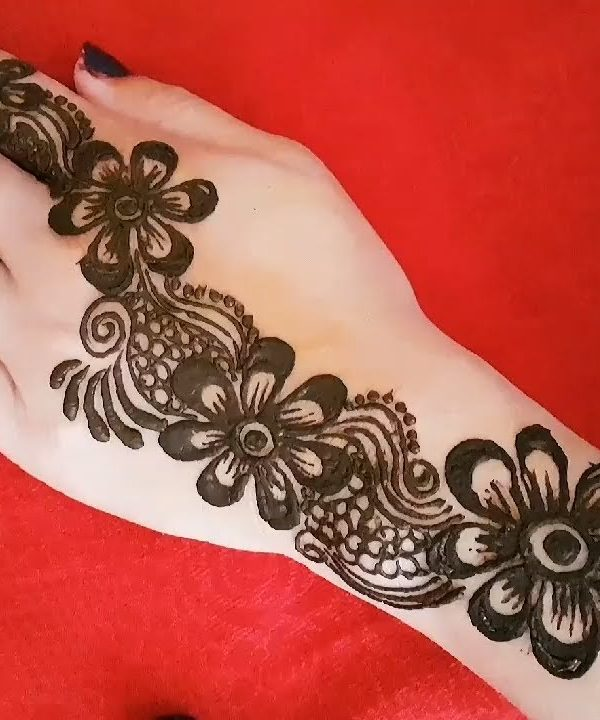 arabic mehndi designs for front hand full