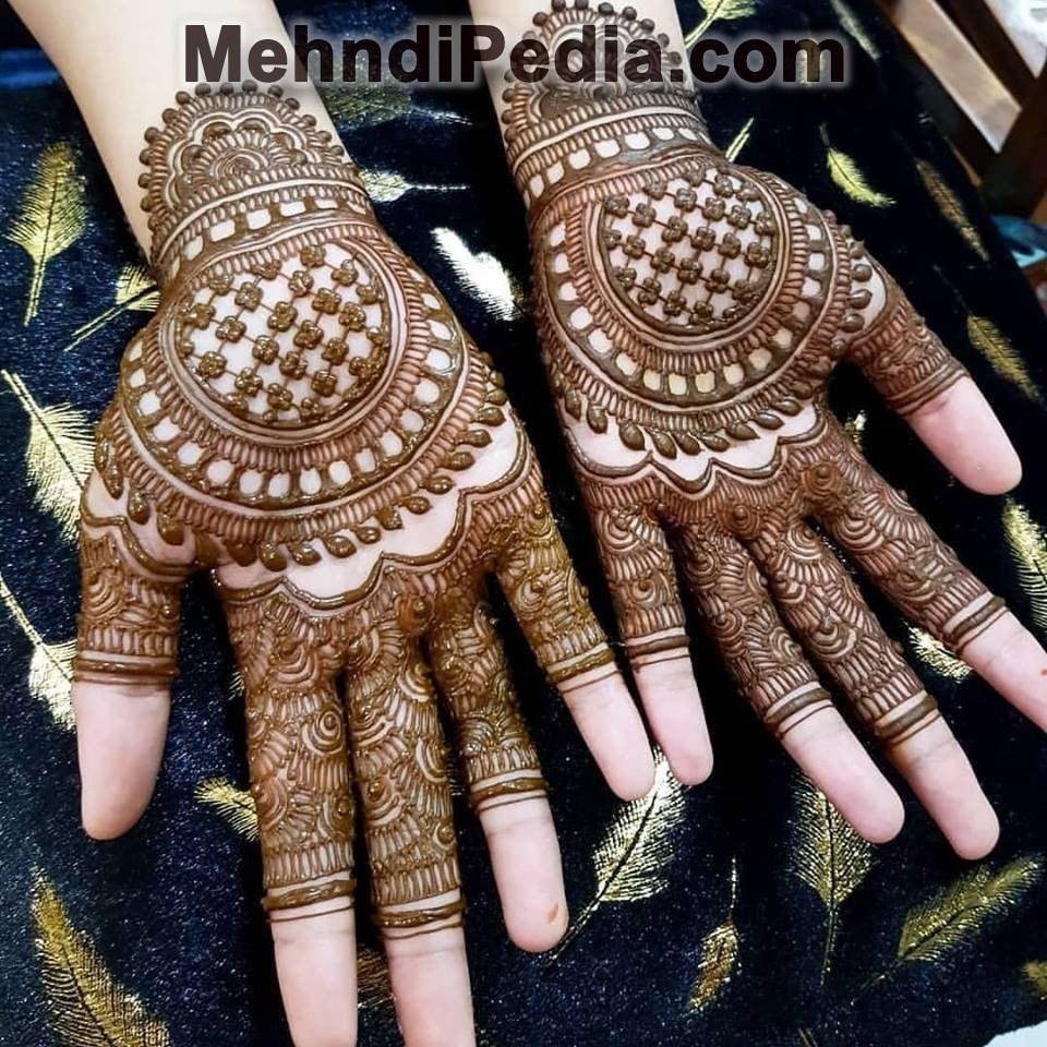 Sound Front Hand Arabic Mehndi Designs