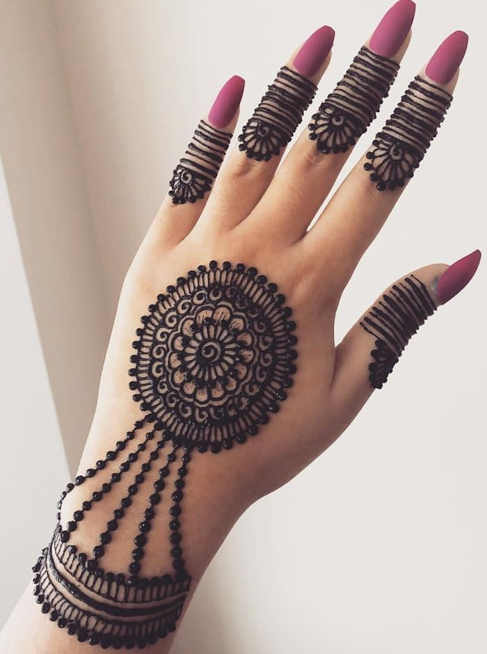Henna Quick Stylish Mehandi Wrist: Ideal Simple Arabic Mehndi Designs For Backhand And Wrist
