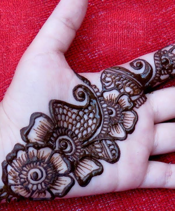 Adorable Easy Arabic Mehndi Designs , Easy Arabic Mehndi