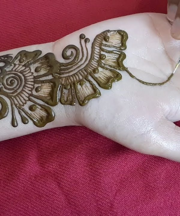 arabic mehndi design for beginners