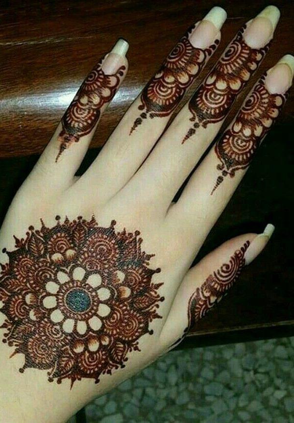 arabic new model mehndi designs