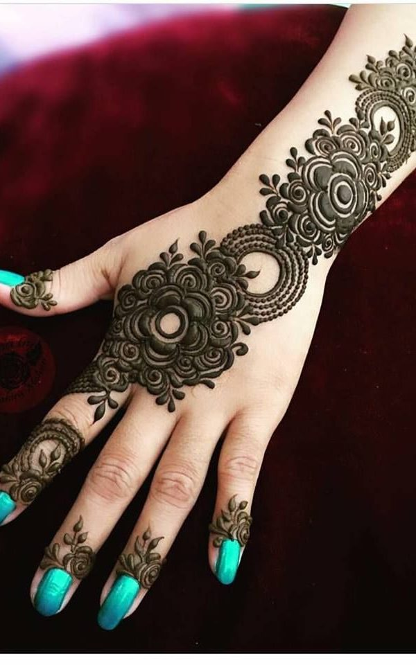 New Style Arabic Mehndi Designs For Back Hand New Style Arabic Mehndi Designs Arabic Mehndi Crayon