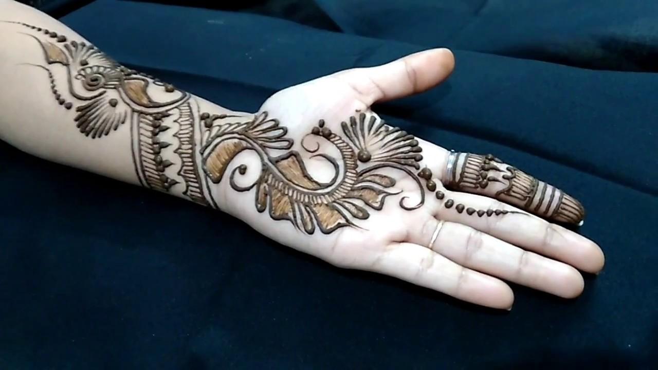 mehndi design arabic new style image