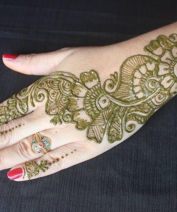 new style arabic mehndi